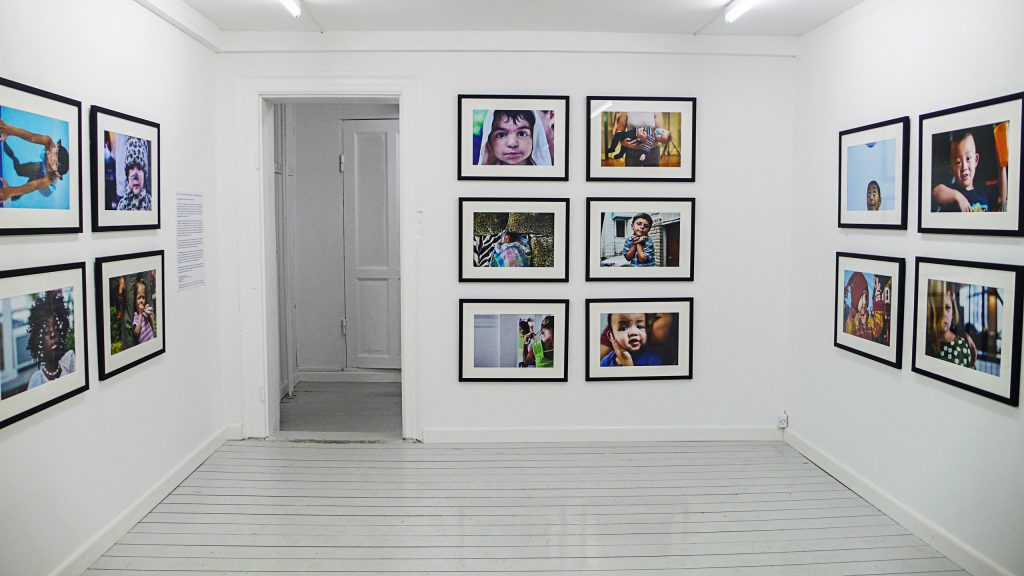 Image from a Danny Goldfield portrait photogrpahy exhibition